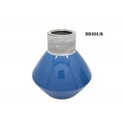 vasija turquesa ceramica c-bor
