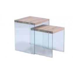 mesas bajas bamberg set x 2...