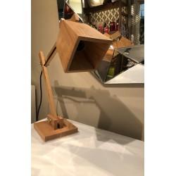 lampara de escritorio madera