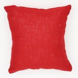 almohadon arpillera lisa