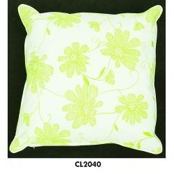 almohadon pop flower verde