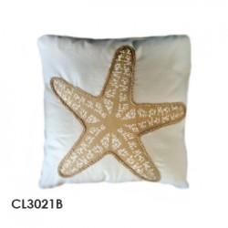 almohadon marine starfish beig