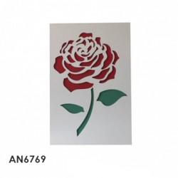 cuadro rosa hoja 40x4x60