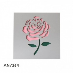 cuadro rosa rosa 40x4x40