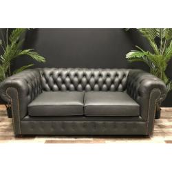sofa chesterfield 200cm cuero