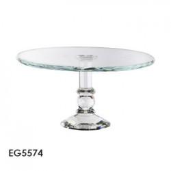 pedestal de torta cristal
