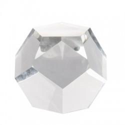 poligono decorativo de vidrio