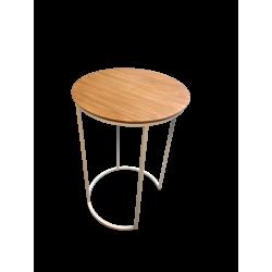 mesa aux madera white 40x60