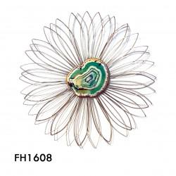 aplique de pared onix flower