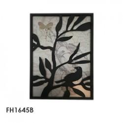 aplique pared leaves 33x46