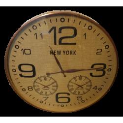 reloj de pared acero-bse rafia