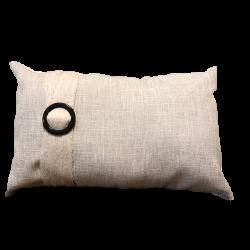 almohadon lino hebila carey