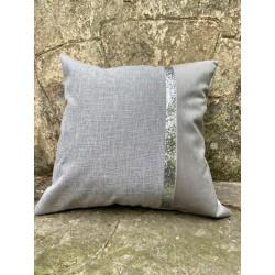 almohadon net lino silver