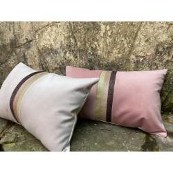 almohadon glam rosa
