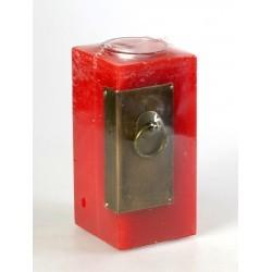 vela cuad. c-esq. metal red
