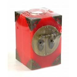 vela cuad. c-acces. metal red
