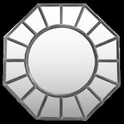 espejo hexagonal bruselas 111c