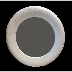 espejo circular blanco aviv