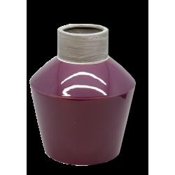 vasija purpura ceramica c-bor