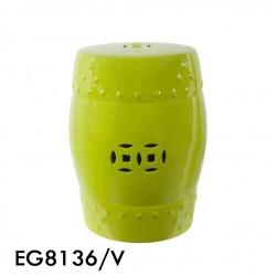 banqueta terracota verde 33x45