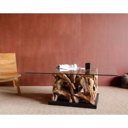 mesa baja ace sin vidrio