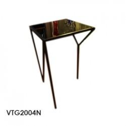 mesa ny vidrio black 35x35x60