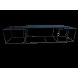 mesas de centro rect black sx3